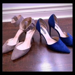 ZARA| Lot of TWO pointed pumps| 37